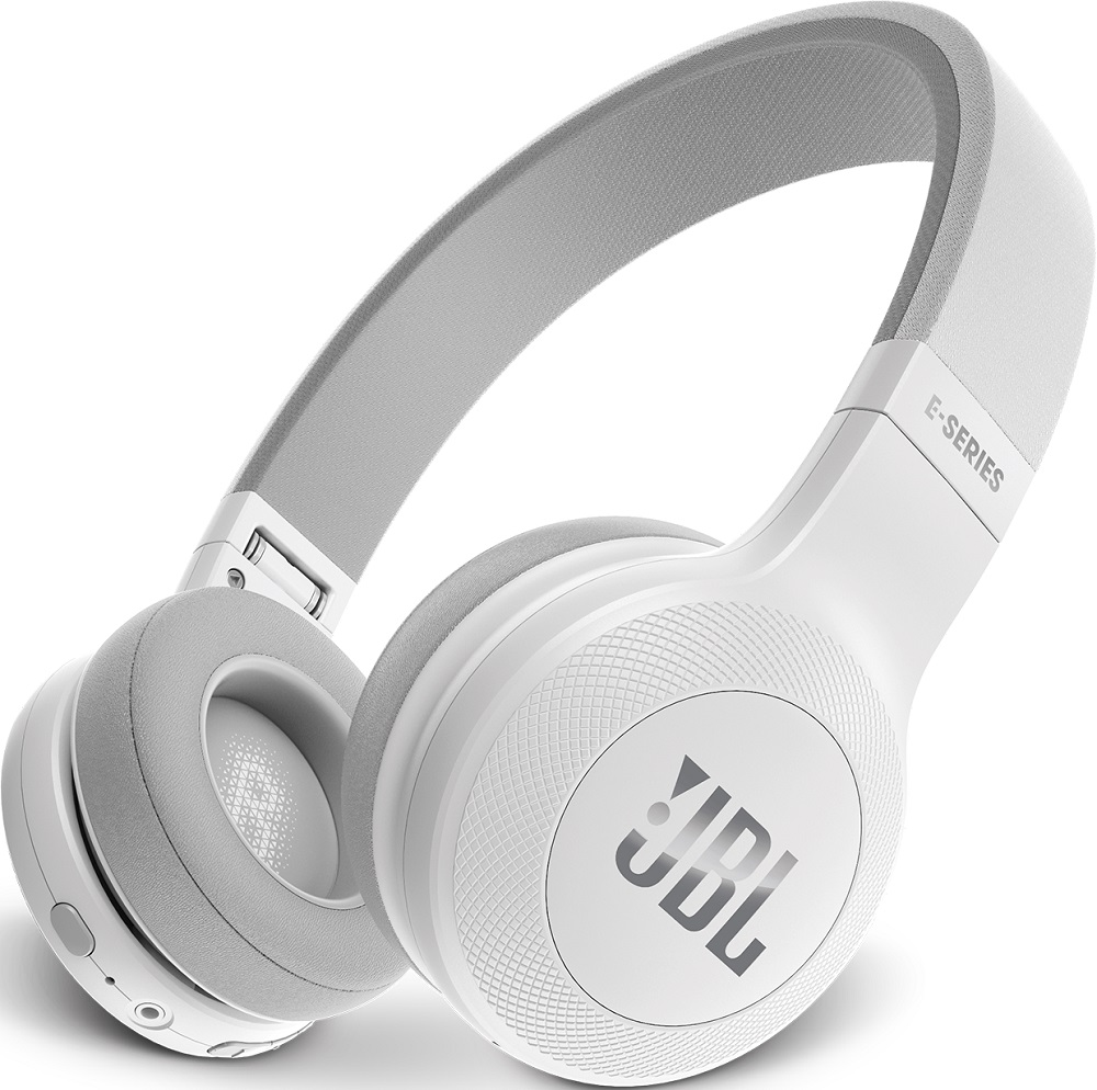 Беспроводные наушники с микрофоном JBL E45BT накладные White наушники jbl e45bt blue