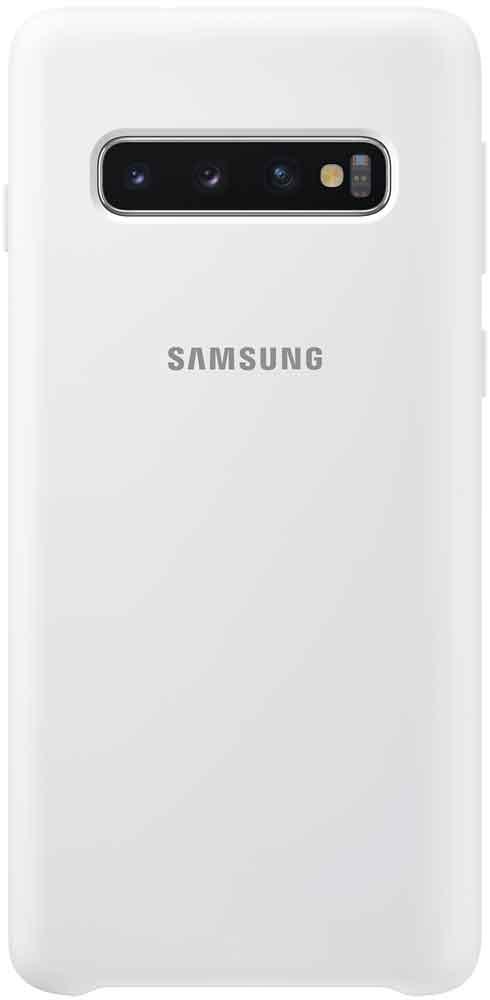 Клип-кейс Samsung Galaxy S10 TPU EF-PG973TWEGRU White клип кейс samsung galaxy s10 ef qg973c прозрачный