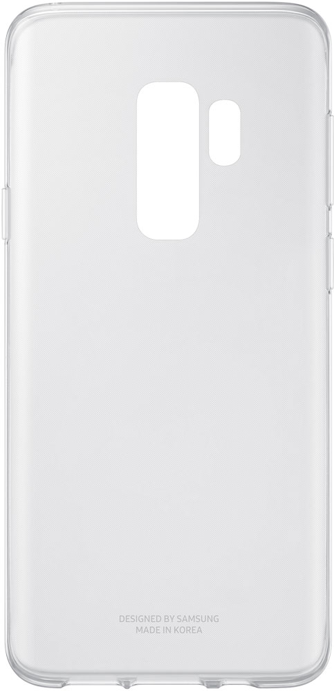 Клип-кейс Samsung Galaxy S9 Plus Clear Cover прозрачный клип кейс samsung galaxy s9 plus silicone cover grey
