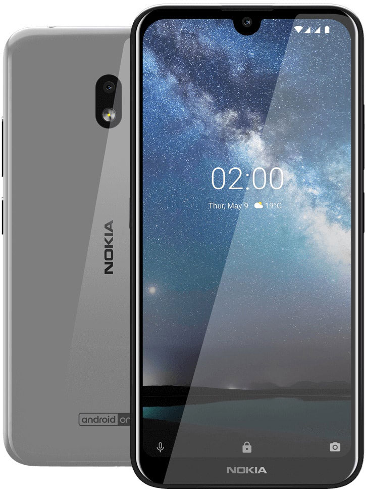Фото - Смартфон Nokia 2.2 2/16 Gb Steel объектив