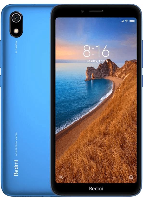 Смартфон Xiaomi Redmi 7A 2/16Gb Blue фото