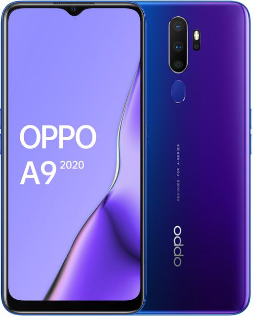 Смартфон OPPO A9 2020 4/128Gb Space purple CPH1941