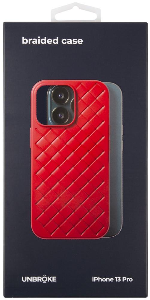 Клип-кейс UNBROKE iPhone 13 Pro Braided Red фото 3