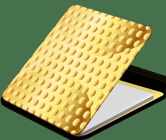 Держатель наклейка WTF Smart Sticker универсальный Gold (7.90) фото
