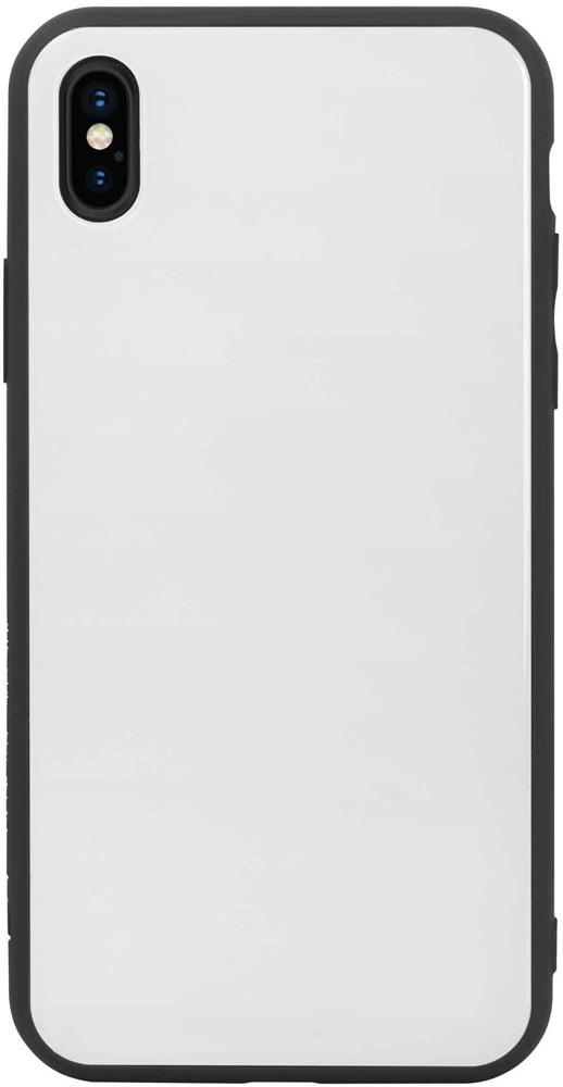 Клип-кейс Hardiz Apple iPhone XS Max Glass White аксессуар чехол для apple iphone xr hardiz glass case white hrd811700