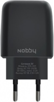 фото СЗУ Nobby Comfort 016-001 2USB 3.4A soft touch Black