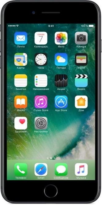 Фото - Смартфон Apple iPhone 7 Plus 32GB Black (MNQM2RU/A) объектив