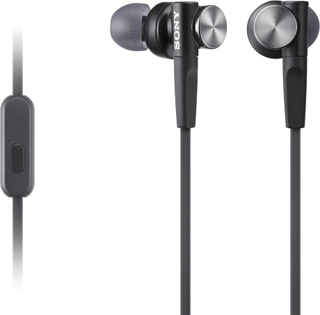 Наушники с микрофоном Sony MDR-XB50APB Black цена 2017