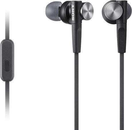 Наушники с микрофоном Sony MDR-XB50APB Black sony xba a3 black