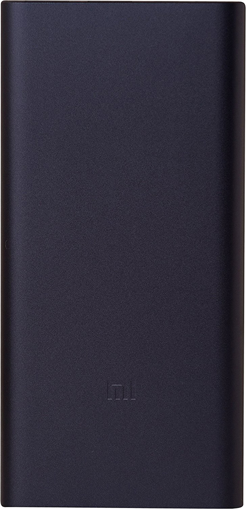 Внешний аккумулятор Xiaomi Mi Power 2i New 2USB 10000 mAh Quick Charge 2.0 PLM09ZM Black
