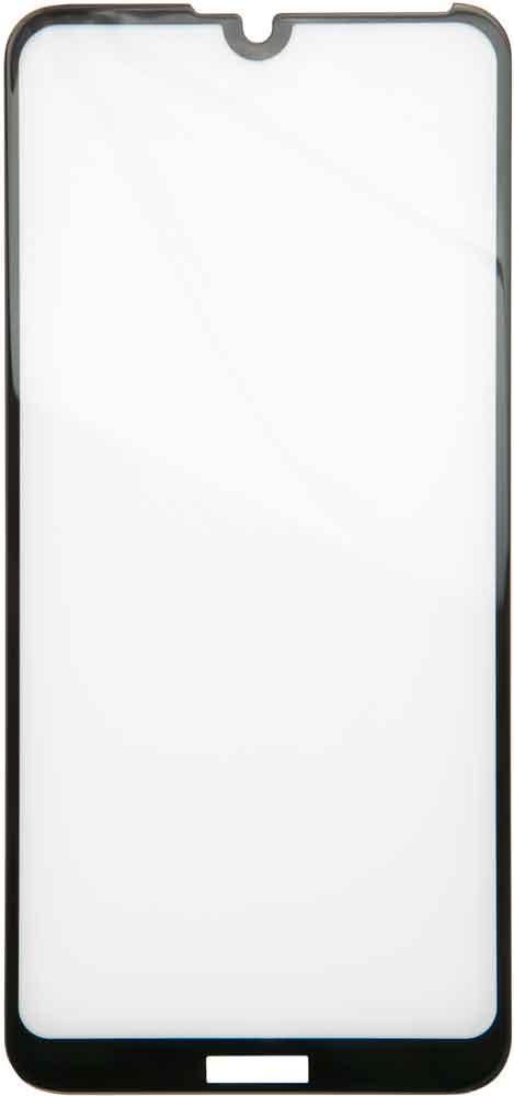 Стекло защитное RedLine Huawei Y7 2019 3D Full Glue черная рамка фото