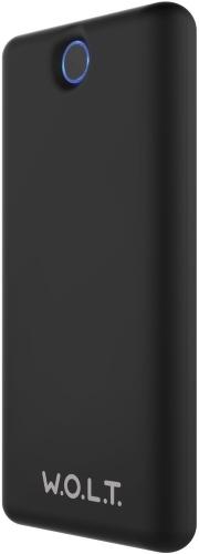 Внешний аккумулятор W.O.L.T. TX160-01 16000 mAh black аккумулятор fujipower 2200 mah black fpbb22c1blk
