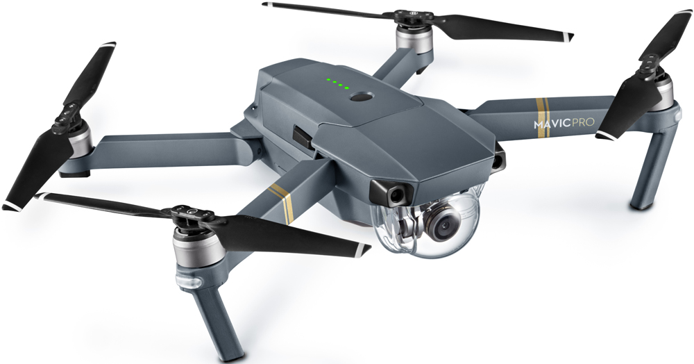 Квадрокоптер DJI Mavic Pro Grey квадрокоптер dji mavic air eu arctic white