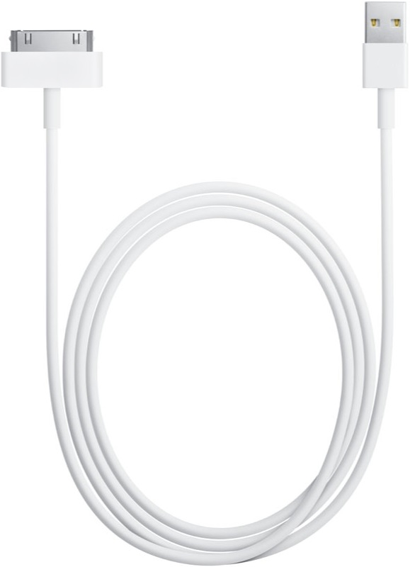 Дата-кабель Smarterra STRA30P-001 30-pin iPhone 4 1м White