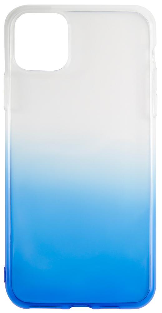 Клип-кейс RedLine iBox iPhone 11 прозрачный градиент Blue фото