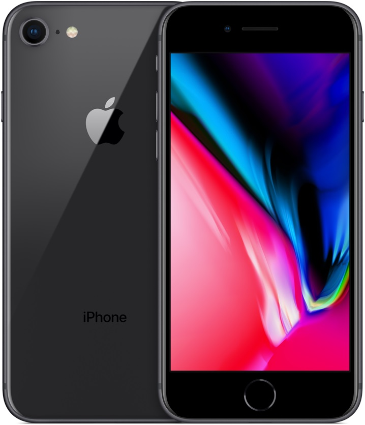 Смартфон Apple iPhone 8 128Gb Space Gray (Серый Космос) фото