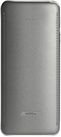 Внешний аккумулятор Nobby Comfort-017-002 10800mAh Graphite аккумулятор nobby comfort 019 001 15600 mah 2xusb 2 1a graphite 09353