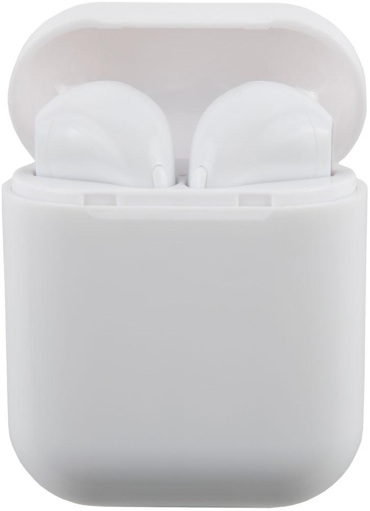 Беспроводные наушники с микрофоном RedLine TWS BHS-10 White фото