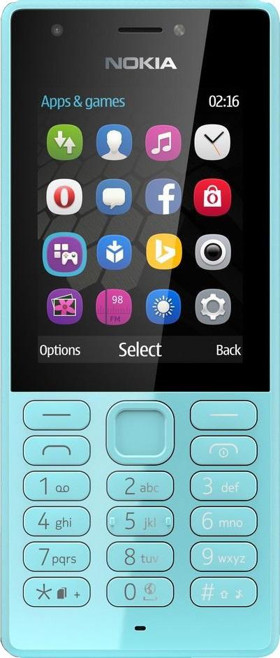 Мобильный телефон Nokia 216 Dual Sim Blue мобильный телефон nokia 230 dual sim blue