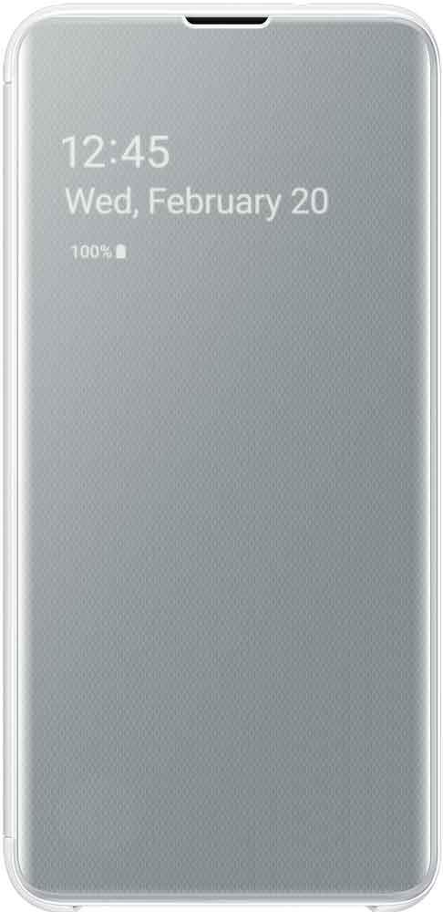 Чехол-книжка Samsung Galaxy S10e EF-ZG970C White фото