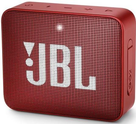 Портативная акустическая система JBL GO 2 red фото