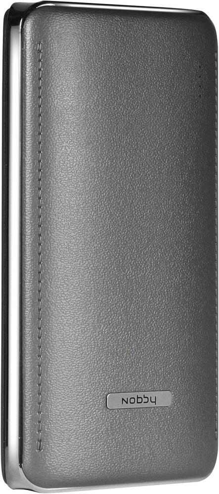 Внешний аккумулятор Nobby Comfort-019-001 15600mAh Graphite аккумулятор nobby comfort 019 001 15600 mah 2xusb 2 1a graphite 09353