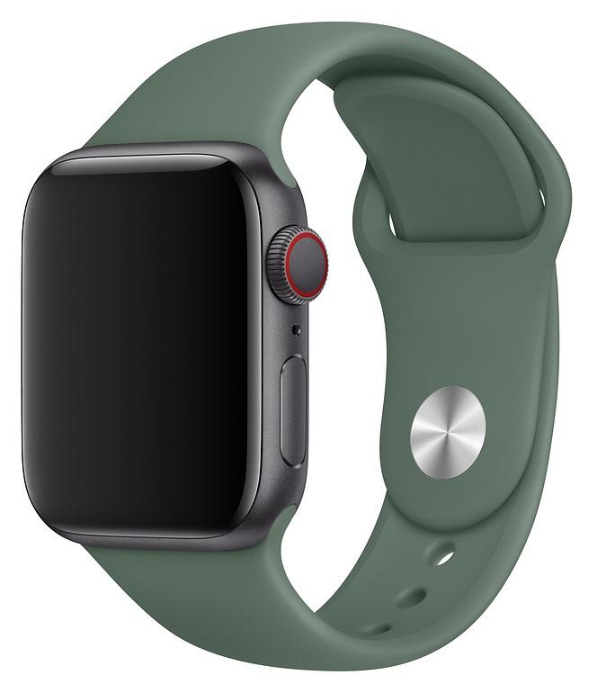 Ремешок для умных часов Everstone ES-AWBS-108 Apple Watch 38/40мм силиконовый Green фото