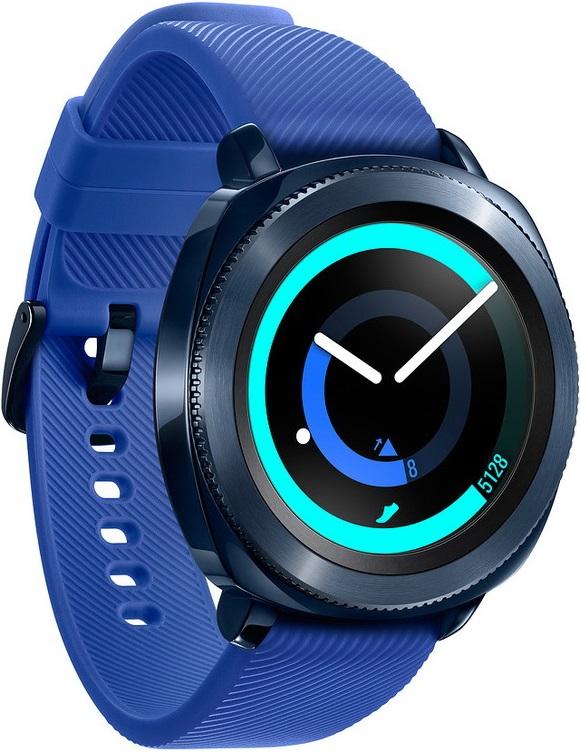 лучшая цена Часы Samsung Gear Sport SM-R600NZBASER Blue