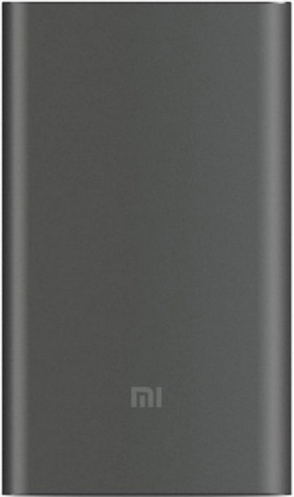 Внешний аккумулятор Xiaomi Mi Pro 10000 mAh Type-C Quick Charge 3.0 PLM03ZM Grey внешний аккумулятор hama premium alu 12000 mah qualcomm quick charge 3 0 gold