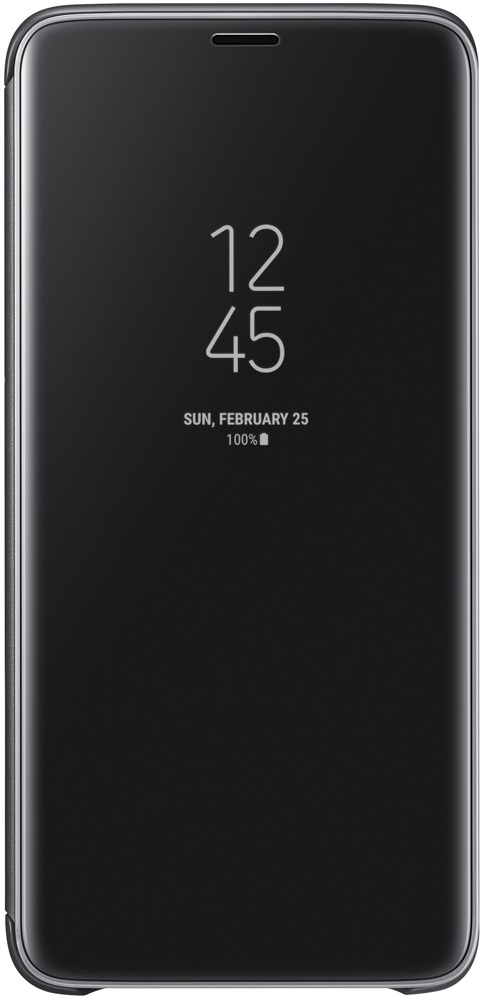 Чехол-книжка Samsung Galaxy S9 Plus Clear View Standing Cover Black чехол крышка samsung clear cover ef qg960ttegru для samsung galaxy s9 прозрачный