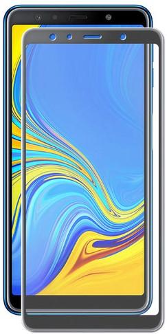 Стекло защитное RedLine для Samsung Galaxy A9 2018 3D Full Glue черная рамка стекло защитное rockmax samsung galaxy s10e 3d full glue черная рамка