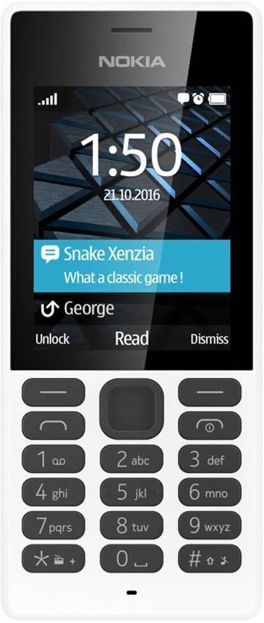 Мобильный телефон Nokia 150 Dual Sim White сотовый телефон microsoft 540 lumia dual sim white