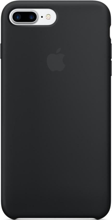 Клип-кейс Apple iPhone 7 Plus силиконовый Black MMQR2ZM/A apple iphone 7 plus 32gb black mnqm2ru a