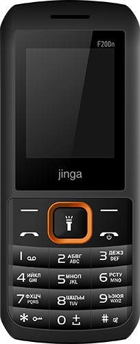 Мобильный телефон Jinga Simple F200n Dual sim Black orange