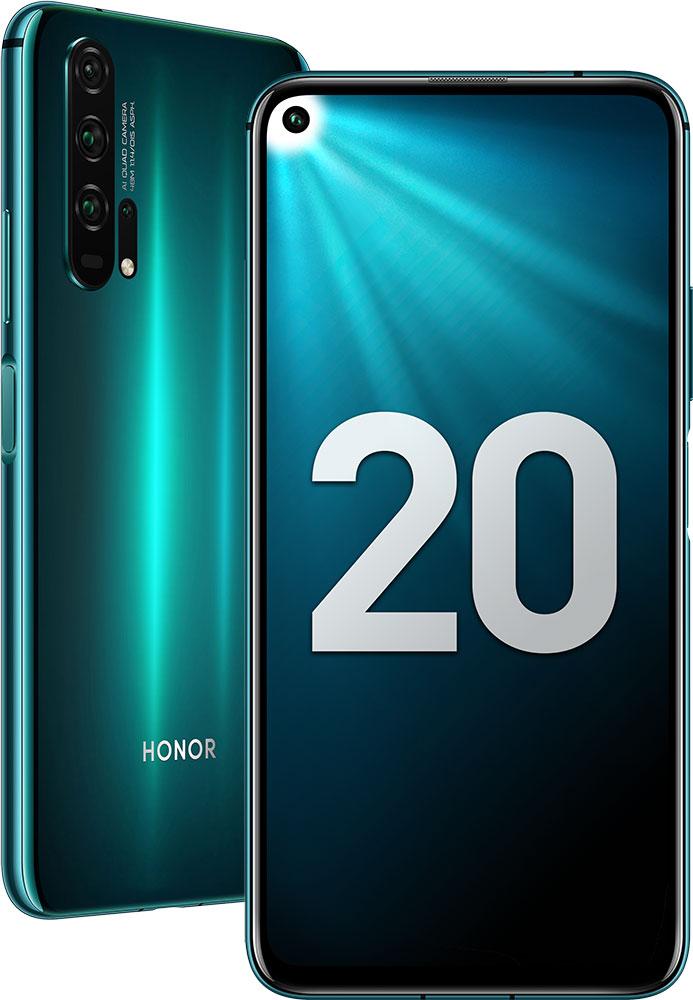 Смартфон Honor 20 Pro 8/256 Gb Phantom Blue фото