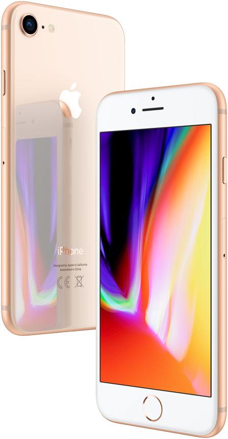 Смартфон Apple iPhone 8 256GB Gold (Золотой) цена и фото