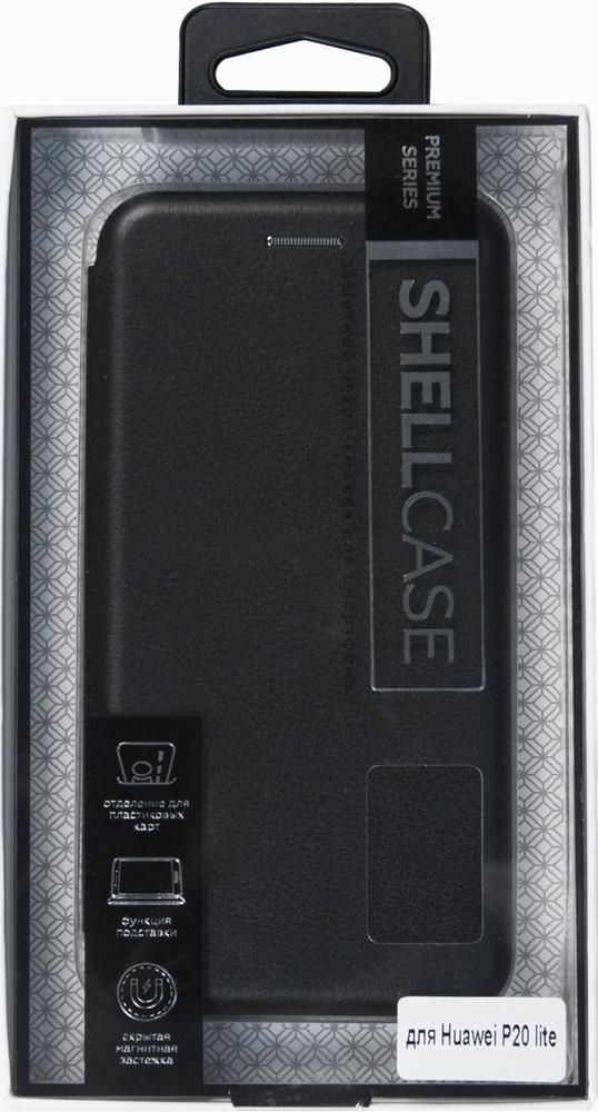 Чехол-книжка Smarterra ShellCase для Huawei P20 Lite Black чехол книжка vili shellcase для huawei p20 pro black