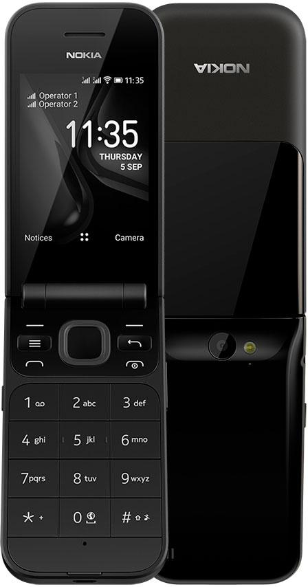 Мобильный телефон Nokia 2720 Dual sim Black