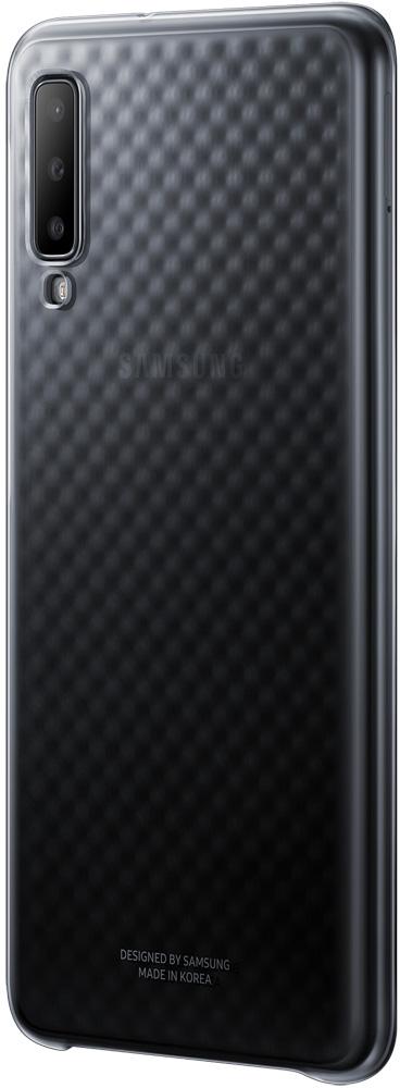 Клип-кейс Samsung Galaxy A7 2018 EF-AA750CBEGRU Black клип кейс deppa samsung galaxy a7 2018 пластик black