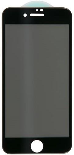 Стекло защитное RedLine для iPhone 8/7 3D AntiSpy черная рамка стекло защитное redline iphone 11 3d privacy черная рамка