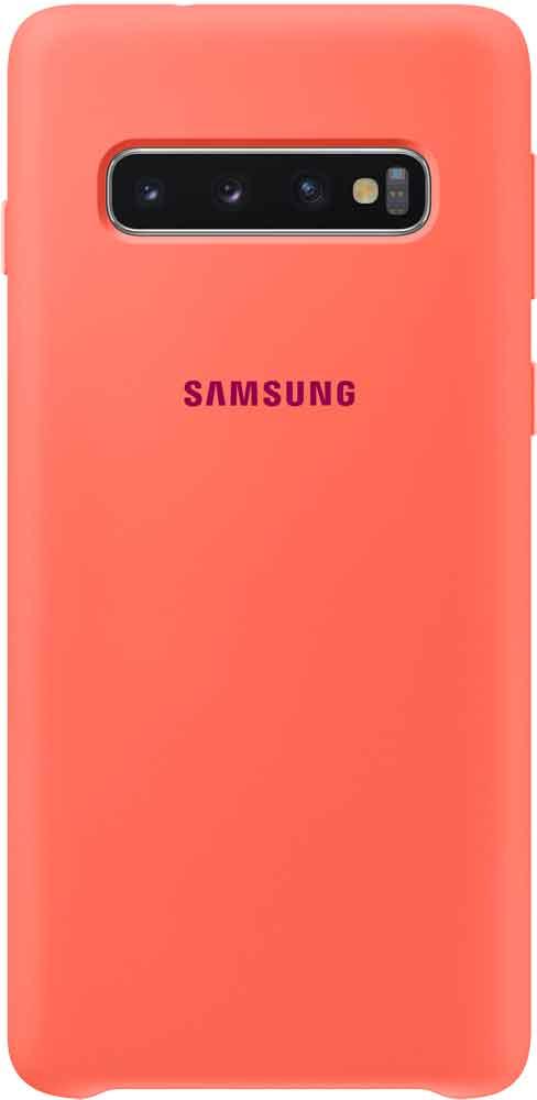 Клип-кейс Samsung Galaxy S10 TPU EF-PG973THEGRU Pink stylish flip open pu tpu case w stand display window wake up for samsung galaxy s5 pink