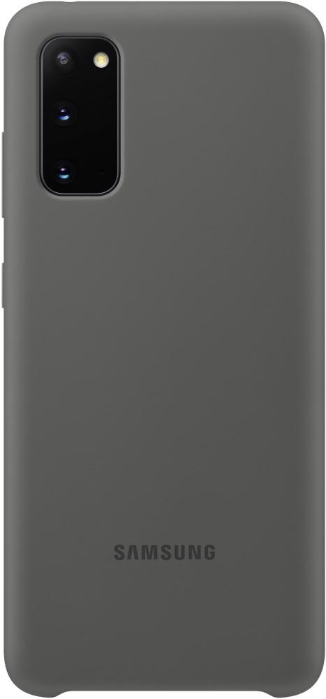 Клип-кейс Samsung S20 силиконовый Grey (EF-PG980TJEGRU) фото