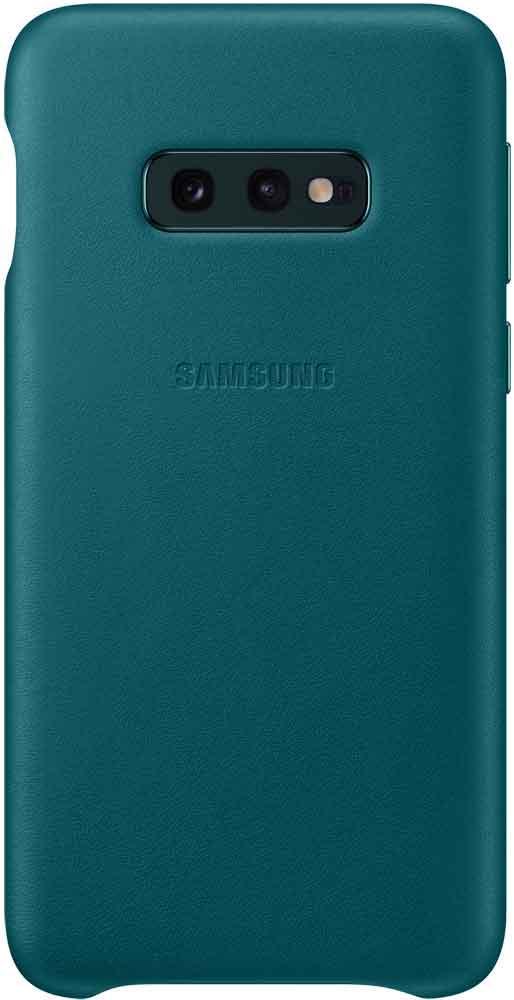 Клип-кейс Samsung Galaxy S10e EF-VG970L кожа Green клип кейс samsung galaxy s10e ef vg970l кожа black