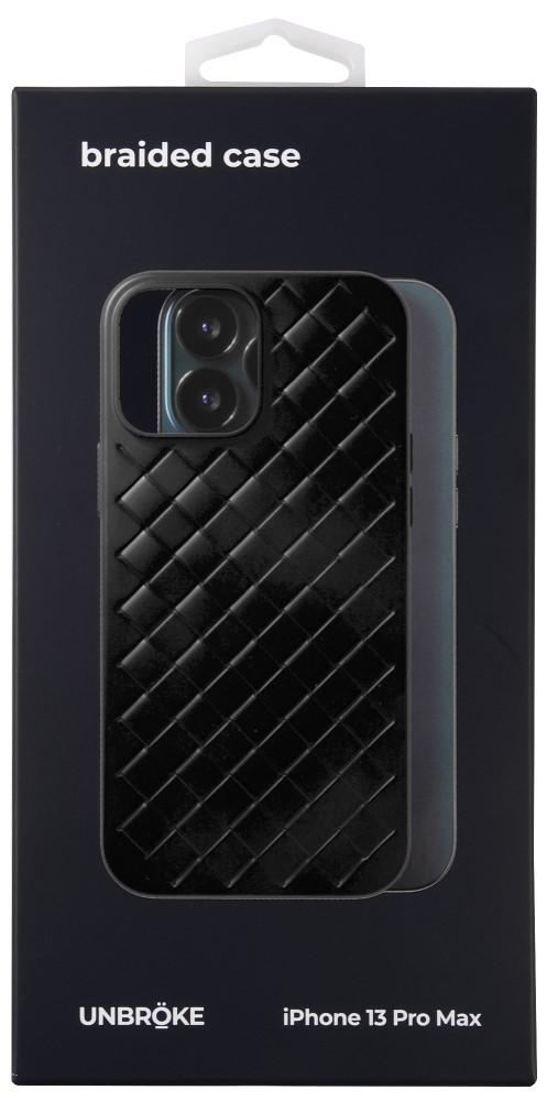 Клип-кейс UNBROKE iPhone 13 Pro Max Braided Black фото 3