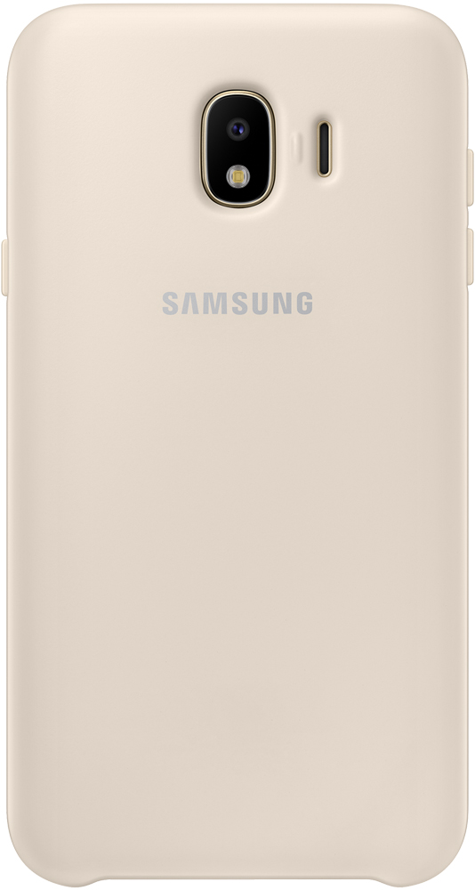 Клип-кейс Samsung Galaxy J4 Dual Layer Cover Gold (EF-PJ400CFEGRU) клип кейс samsung samsung galaxy j6 dual layer cover black ef pj600cbegru
