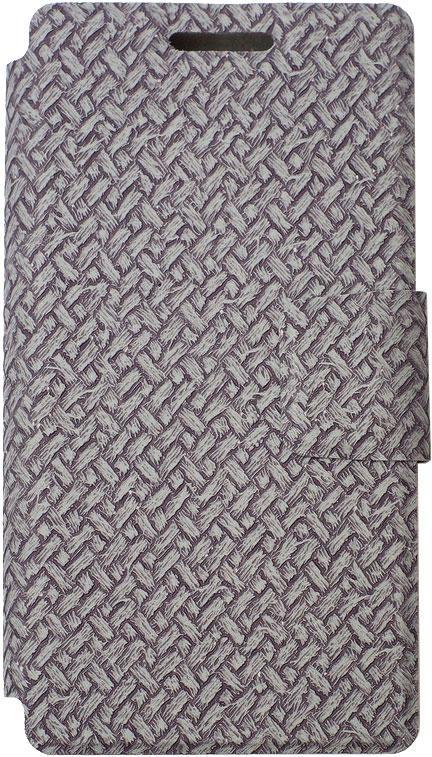 цена на Чехол-книжка OxyFashion SlideUP универсальный размер S 3,5-4,3 бамбук Grey