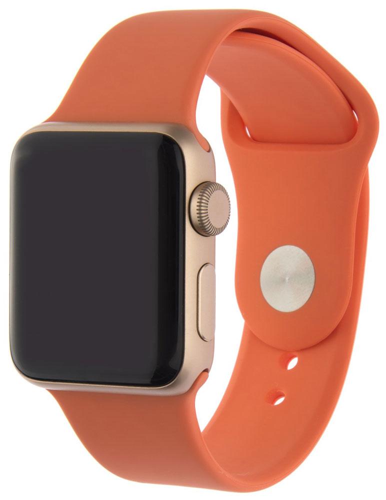 Ремешок для умных часов InterStep Sport Apple Watch 38/40мм силиконовый Orange стоимость