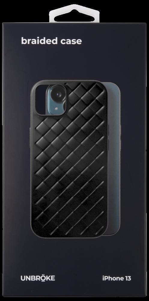 Клип-кейс UNBROKE iPhone 13 Braided Black фото 3