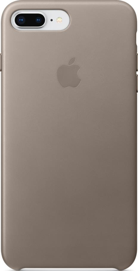 Клип-кейс Apple iPhone 8 Plus/ 7 Plus кожаный Grey