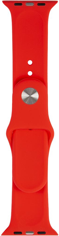 Ремешок для умных часов RedLine Apple Watch 38/40мм силиконовый Red фото 3